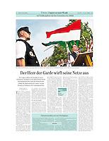 Austrian daily Der Standard<br /> April 10, 2010<br /> Photographer: Martin Fejer