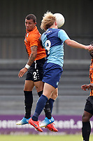 Craig Mackail-Smith of Wycombe Wanderers and Cheye Alexander of Barnet during Barnet vs Wycombe Wanderers, Friendly Match Football at the Hive Stadium on 13th July 2019