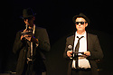 Edinburgh, UK. 01.08.2014.  The Blues Brothers MC the C Venues press launch,as part of Edinburgh Festival Fringe. Photograph © Jane Hobson.