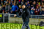 Kerry manager Peter Keane before the Allianz Football League Division 1 Round 3 match between Kerry and Dublin at Austin Stack Park in Tralee, Kerry on Saturday night.