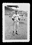 Snapshot of Joe DiMaggio of the New York Yankees circa 1930s.