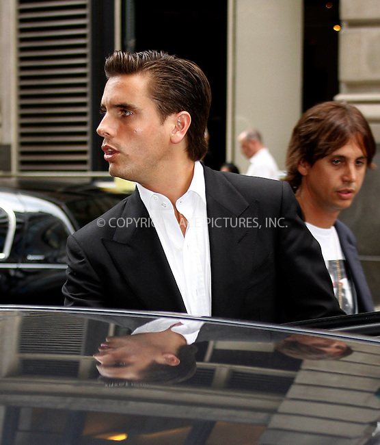 WWW.ACEPIXS.COM . . . . .  ....August 31 2011, New York City....Scott Disick leaves a midtown hotel on August 31 2011 in New York City....Please byline: CURTIS MEANS - ACE PICTURES.... *** ***..Ace Pictures, Inc:  ..Philip Vaughan (212) 243-8787 or (646) 679 0430..e-mail: info@acepixs.com..web: http://www.acepixs.com