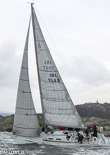 Simon Knowles' J109 Indian from Howth Yacht Club