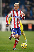 Griezman of Atletico de Madrid during La Liga match between Atletico de Madrid and Villarreal at Vicente Calderon stadium in Madrid, Spain. December 14, 2014. (ALTERPHOTOS/Caro Marin) /NortePhoto