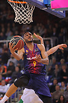 League ACB-ENDESA 2017/2018 - Game: 27.<br /> FC Barcelona Lassa vs Real Betis Energia Plus: 121-56.<br /> Adam Hanga.