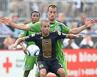 Philadelphia Union vs Seattle Sounders FC June 27 2010