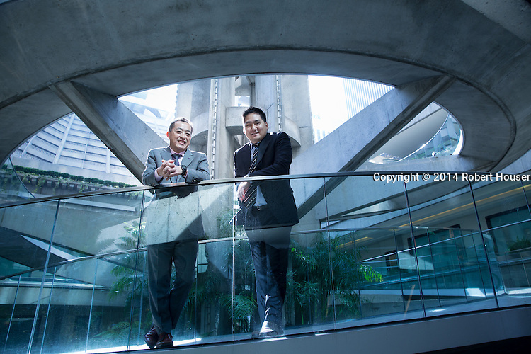 Portrait of Taizo Ishida and Kenichi Amaki - Matthews Japan