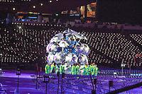 LONDRES, INGLATERRA, 29 AGOSTO 2012 - ABERTURA PARAOLIMPIADAS - Cerimonia dos jogos Paraolimpicos no Estadio Olimpico de Londres, nesta quarta-feira, 29. (FOTO: GEORGINA GARCIA / BRAZIL PHOTO PRESS).