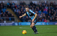Matt Bloomfield of Wycombe Wanderers in action during the Sky Bet League 2 match between Wycombe Wanderers and Oxford United at Adams Park, High Wycombe, England on 19 December 2015. Photo by Andy Rowland.