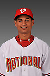 14 March 2008: ..Portrait of Carlos Martinez, Washington Nationals Minor League player at Spring Training Camp 2008..Mandatory Photo Credit: Ed Wolfstein Photo