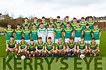 St Brendans College team at their press day in Killarney on Wednesday