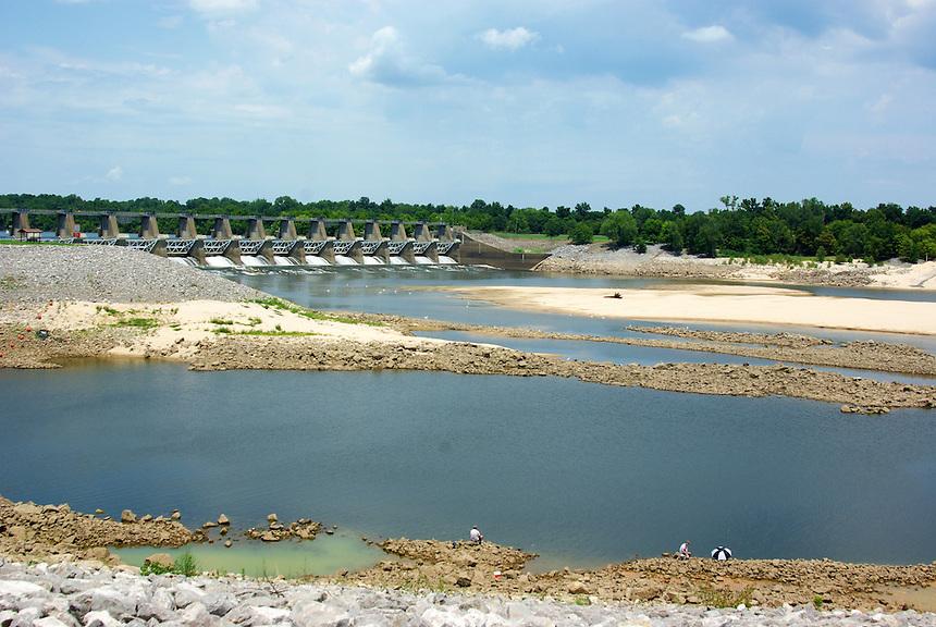 Wilbur Mills Dam on the Arkansas River near Tichnor, Arkansas