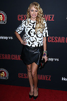 "HOLLYWOOD, LOS ANGELES, CA, USA - MARCH 20: Paulina Rubio at the Los Angeles Premiere Of Pantelion Films And Participant Media's ""Cesar Chavez"" held at TCL Chinese Theatre on March 20, 2014 in Hollywood, Los Angeles, California, United States. (Photo by David Acosta/Celebrity Monitor)"