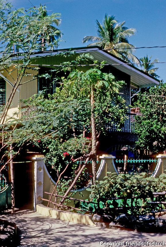 Philippines: Agoo,New House. Photo '82.