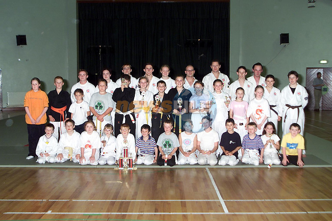 The group that took part in the Jiu Jitsu demonstration in the Ardee Parish Centre..Picture Paul Mohan Newsfile