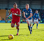 23.02.2020 St Johnstone v Rangers: Alfredo Morelos and Callum Booth