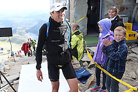 Race number 12 - Emmanuel Auger - Norseman Xtreme Tri 2012 - Norway - photo by chris royle/ boxingheaven@gmail.com