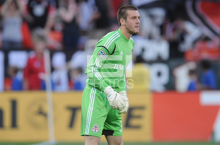 Toronto FC goalkeeper Milos Kocic (30) D.C. United defeated Toronto FC 3-1 at RFK Stadium, Saturday May 19, 2012.
