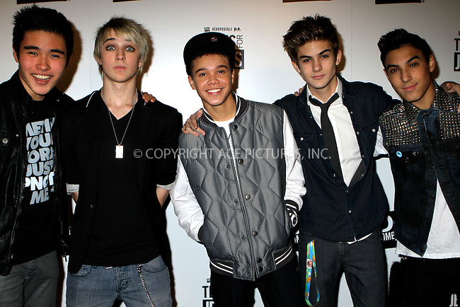 WWW.ACEPIXS.COM....January 8 2013, LA....Pop music group IM5 at the Aeropostale, Inc. and DoSomething.org's 6th annual 'Teens For Jeans' campaign event at Palihouse on January 8, 2013 in West Hollywood, California. ....By Line: Nancy Rivera/ACE Pictures......ACE Pictures, Inc...tel: 646 769 0430..Email: info@acepixs.com..www.acepixs.com