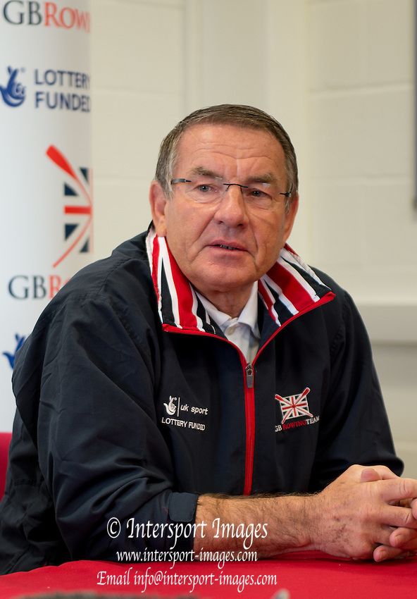Caversham. Berkshire. UK<br /> Cheif Coach, Jurgan GROBLER. <br /> 2016 GBRowing European Team Announcement,  <br /> <br /> Wednesday  06/04/2016 <br /> <br /> [Mandatory Credit; Peter SPURRIER/Intersport-images]