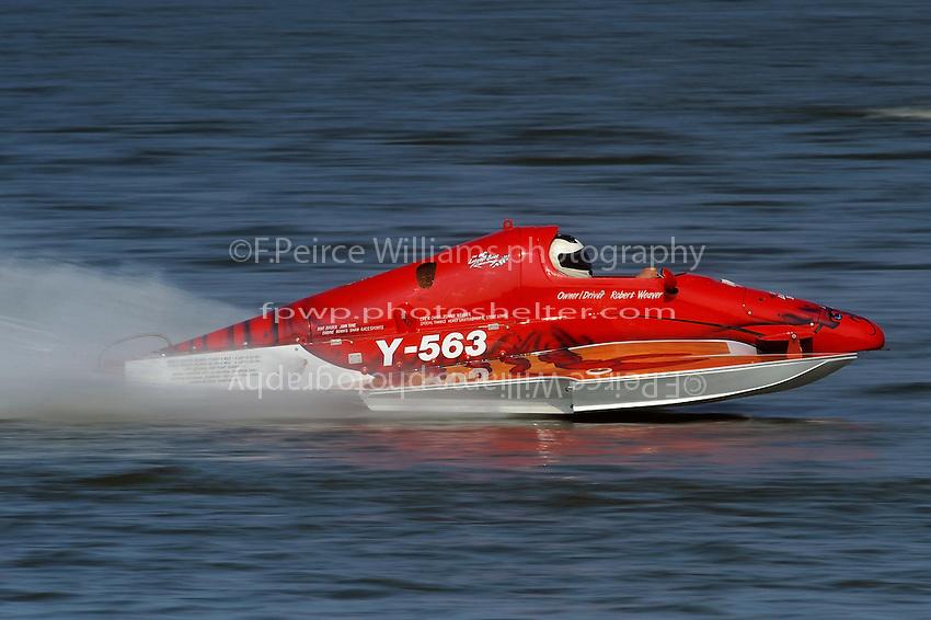 """Chuck Miller, Jr. Y-563 """"Lobster Boat""""  (1 Litre MOD hydroplane(s)"""
