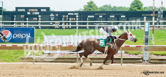 Jalouzi winning at Delaware Park on 6/27/13