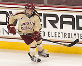 Kristina Brown (BC - 2) - The Boston College Eagles defeated the visiting Harvard University Crimson 3-1 in their NCAA quarterfinal matchup on Saturday, March 16, 2013, at Kelley Rink in Conte Forum in Chestnut Hill, Massachusetts.
