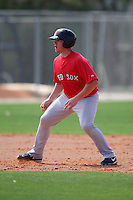 March 18, 2010:  Outfielder Seth Schwindenhammer (37) of the Boston Red Sox organization during Spring Training at Ft.  Myers Training Complex in Fort Myers, FL.  Photo By Mike Janes/Four Seam Images