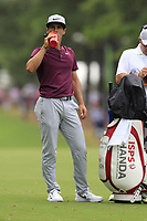 Thorbjorn Olesen (DEN) waits to play his 2nd shot on the 10th hole during Friday's Round 2 of the 2017 PGA Championship held at Quail Hollow Golf Club, Charlotte, North Carolina, USA. 11th August 2017.<br /> Picture: Eoin Clarke | Golffile<br /> <br /> <br /> All photos usage must carry mandatory copyright credit (&copy; Golffile | Eoin Clarke)