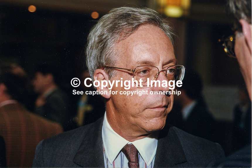 Antonio Armellini, deputy ambassador, Italian Embassy, London, UK, 19971047AA2..Copyright Image from Victor Patterson, 54 Dorchester Park, Belfast, UK, BT9 6RJ..Tel: +44 28 9066 1296.Mob: +44 7802 353836.Voicemail +44 20 8816 7153.Skype: victorpattersonbelfast.Email: victorpatterson@mac.com.Email: victorpatterson@ireland.com (back-up)..IMPORTANT: If you wish to use this image or any other of my images please go to www.victorpatterson.com and click on the Terms & Conditions. Then contact me by email or phone with the reference number(s) of the image(s) concerned.