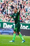 15.04.2018, Weserstadion, Bremen, GER, 1.FBL, Werder Bremen vs RB Leipzig, <br /> <br /> im Bild | picture shows:<br /> Max Kruse (SV Werder Bremen #10), <br /> <br /> <br /> Foto &copy; nordphoto / Rauch