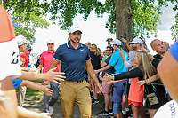 Jason Day (AUS) heads to the 10th tee during Saturday's round 3 of the World Golf Championships - Bridgestone Invitational, at the Firestone Country Club, Akron, Ohio. 8/5/2017.<br /> Picture: Golffile | Ken Murray<br /> <br /> <br /> All photo usage must carry mandatory copyright credit (&copy; Golffile | Ken Murray)
