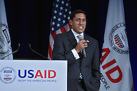 February 15, 2013  (Washington, DC)  Rajiv Shah, Administrator, U.S. Agency for International Development (USAID) at the Ronald Reagan Building in Washington.  (Photo by Don Baxter/Media Images International)