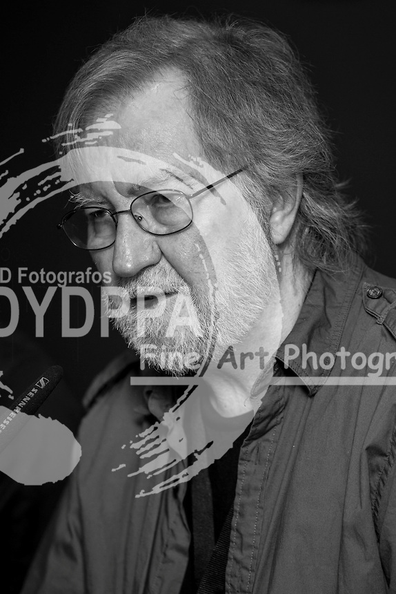 """American film director Tobe Hooper promotes his book """"The Texas Chainsaw Massacre"""" """"La Matanza de Texas """" during Nocturna fantasy films festival at Fnac Callao in Madrid on May 28, 2013. Photo by  Nacho Lopez / DYD FOTOGRAFOS-DYDPPA"""