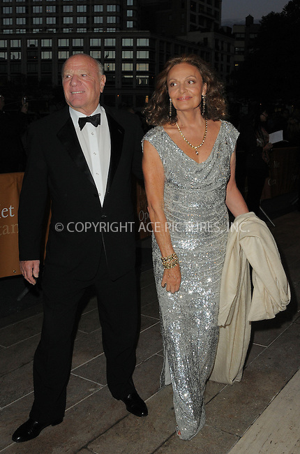 WWW.ACEPIXS.COM....September 24, 2012...New York City.... ....Barry Diller and Diane Von Furstenberg attends the 2012 Metropolitan Opera season opening night performance of 'L'Elisir D'Amore' at The Metropolitan Opera House on September 24, 2012 in New York City....By Line: Curtis Means/ACE Pictures......ACE Pictures, Inc...tel: 646 769 0430..Email: info@acepixs.com..www.acepixs.com