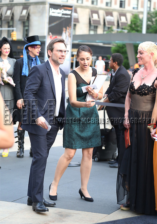 Christian Slater attends the 'Danny Elfman's Music From The Films Of Tim Burton' - 2015 Lincoln Center Festival Opening Night at Josie Robertson Plaza at Lincoln Center on July 6, 2015 in New York City.