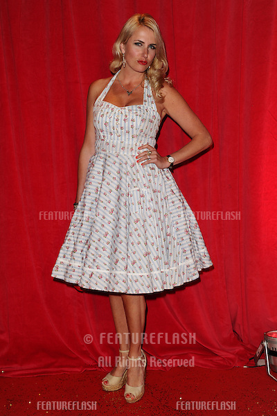 Nancy Sorrell arriving for the 2014 British Soap Awards, at the Hackney Empire, London. 24/05/2014 Picture by: Steve Vas / Featureflash