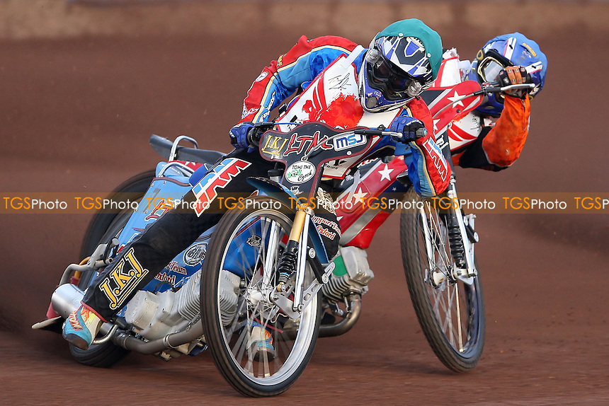 Lubos Tomicek leads Heat 4 - The Paul Hurry Testimonial at The Arena Essex Raceway, Lakeside - 18/07/08 - MANDATORY CREDIT: Rob Newell/TGSPHOTO