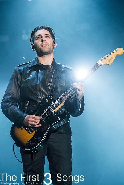 Joe Trohman of Fall Out Boy performs at the 2014 Bunbury Music Festival in Cincinnati, Ohio