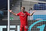 Sebastian Andersson (1.FC Union Berlin) enttäuscht, Enttäuschung, Frust, frustriert, niedergeschlagen<br /> <br /> Sport: Fussball: Bundesliga: Saison 19/20: TSG 1899 Hoffenheim-1.FC Union Berlin, 20.06.2020.<br /> <br /> Foto: RALF POLLER/AVANTI/POOL/PIX-Sportfotos<br /> <br /> Nur für journalistische Zwecke! Only for editorial use! <br /> Gemäß den Vorgaben der DFL Deutsche Fußball Liga ist es untersagt, in dem Stadion und/oder vom Spiel angefertigte Fotoaufnahmen in Form von Sequenzbildern und/oder videoähnlichen Fotostrecken zu verwerten bzw. verwerten zu lassen. DFL regulations prohibit any use of photographs as image sequences and/or quasi-video.