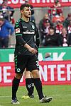01.12.2018, RheinEnergieStadion, Koeln, GER, 2. FBL, 1.FC Koeln vs. SpVgg Greuther Fürth,<br />  <br /> DFL regulations prohibit any use of photographs as image sequences and/or quasi-video<br /> <br /> im Bild / picture shows: <br /> Maximilian Bauer (Fuerth #38), verlaesst nach einer roten Karte den Platz<br /> <br /> Foto © nordphoto / Meuter