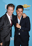 "HOLLYWOOD, CA. - September 07: Matthew Morrison and John Stamos attend the ""Glee"" Season 2 Premiere Screening And DVD Release Party at Paramount Studios on September 7, 2010 in Hollywood, California."