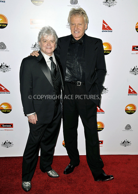 WWW.ACEPIXS.COM......January 12, 2013, Los Angeles, CA.......Russell Hitchcock and Graham Russell arrivng at the 2013 G'Day USA Black Tie Gala at JW Marriott Los Angeles  on January 12, 2013 in Los Angeles, California. ..............By Line: Peter West/ACE Pictures....ACE Pictures, Inc..Tel: 646 769 0430..Email: info@acepixs.com