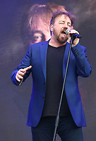 John Owen Jones performs at West End LIVE - The weekend where the cast of London's West End theatre's top musicals perform in front of an estimated 100.000 spectators over the two days - and all for free in the iconic setting of Trafalgar Square. June 22nd 2019<br />