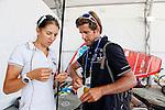 Rio de Janeiro Olympic Test Event - Fédération Française de Voile. 2015 Aquece RSXW, Picon.