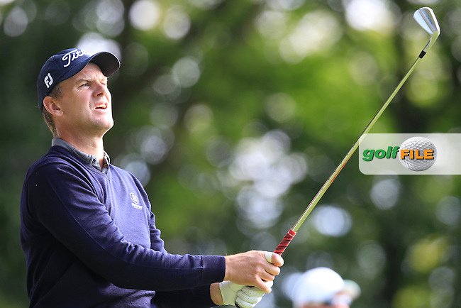 Robert KARLSSON (SWE) during round 1 of the 2015 BMW PGA Championship over the West Course at Wentworth, Virgina Water, London. 21/05/2015<br /> Picture Fran Caffrey, www.golffile.ie: