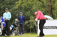 Scott Henry (SCO) tees off the 2nd tee during Sunday's Final Round of the Northern Ireland Open 2018 presented by Modest Golf held at Galgorm Castle Golf Club, Ballymena, Northern Ireland. 19th August 2018.<br /> Picture: Eoin Clarke | Golffile<br /> <br /> <br /> All photos usage must carry mandatory copyright credit (&copy; Golffile | Eoin Clarke)