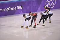 OLYMPIC GAMES: PYEONGCHANG: 17-02-2018, Gangneung Ice Arena, Short Track, ©photo Martin de Jong