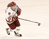 Emily Field (BC - 15) - The Boston College Eagles defeated the visiting St. Lawrence University Saints 6-3 (EN) in their NCAA Quarterfinal match on Saturday, March 10, 2012, at Kelley Rink in Conte Forum in Chestnut Hill, Massachusetts.
