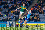 Tommy Walsh, Kerry in action against Brian Fenton, Dublin during the Allianz Football League Division 1 Round 1 match between Dublin and Kerry at Croke Park on Saturday.